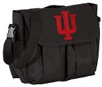 IU Indiana University Diaper Bag Official NCAA College Logo Deluxe