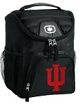IU Indiana University Lunch Bag Insulated Lunch Cooler Black