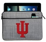 IU Indiana University IPAD SLEEVE or TABLET SLEEVE Stylish Plaid