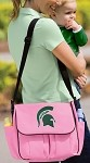 Michigan State University Diaper Bag Official NCAA College Logo Deluxe