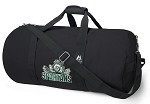Michigan State Peace Frog Duffel Bag Official NCAA Logo