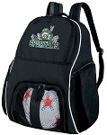 Michigan State Peace Frog Ball Backpack