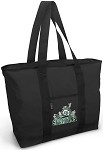 Michigan State Peace Frog Tote Bag Black Deluxe