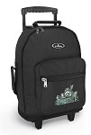 Michigan State Peace Frog Rolling Backpack