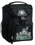 Michigan State Peace Frog Lunch Bag Insulated Lunch Cooler Black