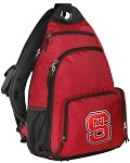 NC State Sling Backpack Red