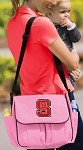 NC State Diaper Bag Official NCAA College Logo Deluxe