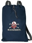 Nebraska Blackshirts Cotton Drawstring Bags