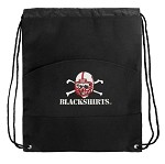 Nebraska Blackshirts Drawstring Bag Cinch