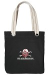 Nebraska Blackshirts Black Cotton Tote Bag