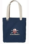 Nebraska Blackshirts Rich NAVY Cotton Tote Bag