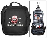 Nebraska Blackshirts Cosmetic Bag or Mens Shaving Kit - Travel Bag