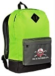 Nebraska Blackshirts Neon Green Backpack