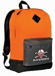 Nebraska Blackshirts Neon Orange Backpack