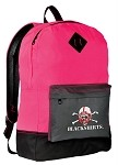 Nebraska Blackshirts Neon PINK Backpack