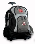 Nebraska Blackshirts Rolling Backpack Deluxe Gray