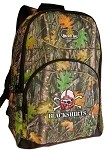 Nebraska Blackshirts REAL Camo Backpack
