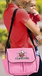 Nebraska Blackshirts Diaper Bag Official NCAA College Logo Deluxe