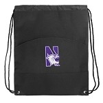 Northwestern University Drawstring Bag Cinch