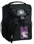 Northwestern University Lunch Bag Insulated Lunch Cooler Black