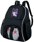 Northwestern University Ball Backpack