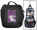 Northwestern University Cosmetic Bag or Mens Shaving Kit - Travel Bag