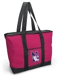 Northwestern University Pink Tote Bag