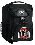 OSU Ohio State Buckeyes Lunch Bag Insulated Lunch Cooler Black