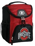 OSU Ohio State Buckeyes Lunch Bag Insulated Lunch Cooler Red