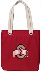 OSU Ohio State Buckeyes Rich RED Cotton Tote Bag