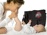 OSU Ohio State Buckeyes Diaper Bag Official NCAA College Logo Deluxe