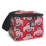 OSU Ohio State Buckeyes Lunch Box Cooler Insulated
