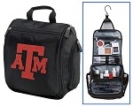 Texas A&M Aggies Cosmetic Bag or Mens Shaving Kit - Travel Bag