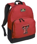 Texas Tech University Backpack Red