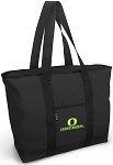 University of Oregon Tote Bag Black Deluxe
