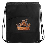 UVA Peace Frog Backpack Cinch Drawstring Style