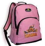 UVA Peace Frog Backpack Pink