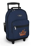 UVA Peace Frog Rolling Backpack Navy