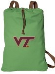 Virginia Tech Hokies Cotton Drawstring Bags