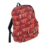 Virginia Tech Hokies Medium Backpack BLOWOUT