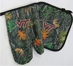 Virginia Tech Hokies Real Camo Mitt Potholder Set
