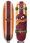 Virginia Tech Hokies Skateboard CRUISER Board COMPLETE SETUP