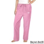 Virginia Tech Hokies Pink Scrubs Pants Bottoms