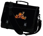 Virginia Tech Peace Frog Messenger Bags NCAA