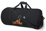 Virginia Tech Peace Frog Duffel Bag Official NCAA Logo