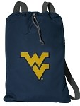 West Virginia University WVU Cotton Drawstring Bags