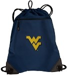 West Virginia University WVU Drawstring Bag Backpack