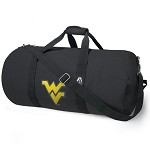 West Virginia University WVU Duffel Bag Official NCAA Logo