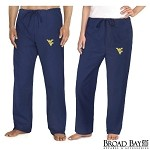 West Virginia University WVU Scrubs Bottoms Pants