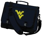 West Virginia University WVU Messenger Bag NCAA Navy